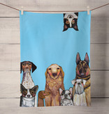 Green Box Dogs, Dogs, Dogs Tea Towel