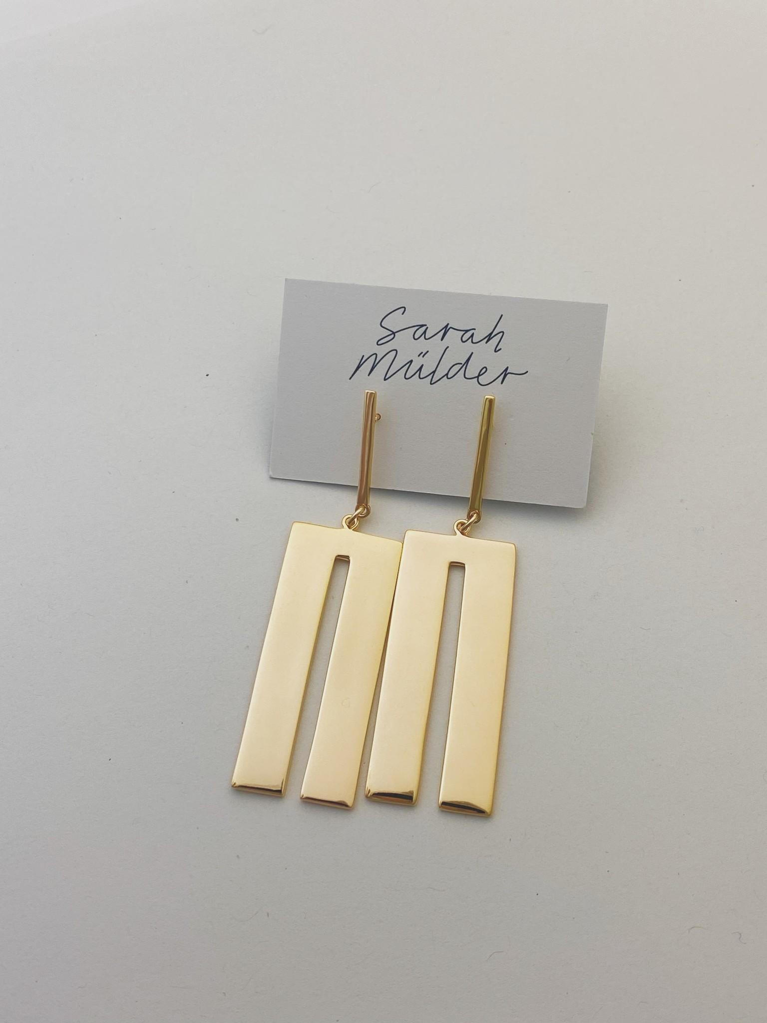 Sarah Mulder Jondae Earring- Gold
