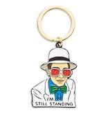 The Found Enamel Keychain- Elton John