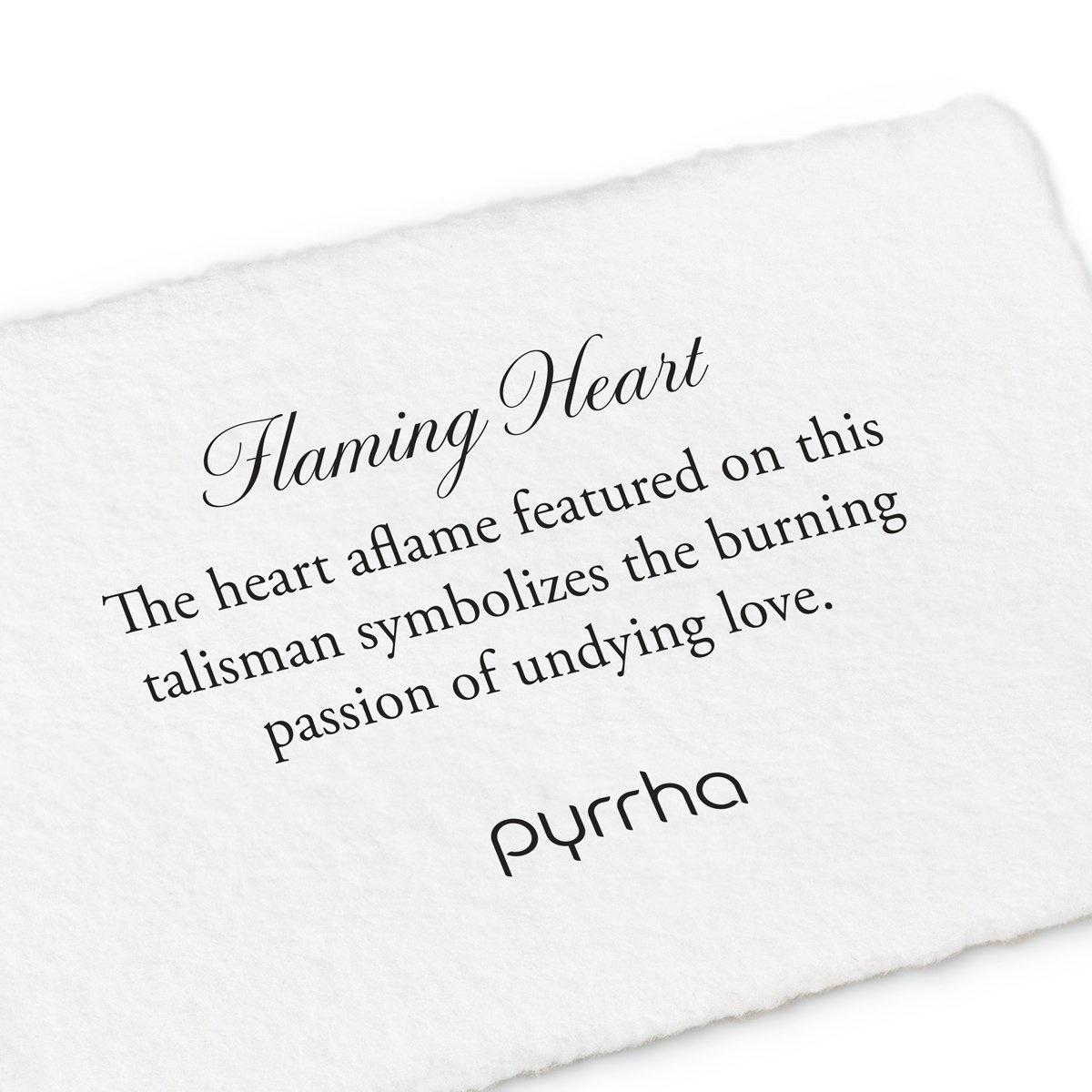 "Pyrrha Pyrrha- Flaming Heart 18"""