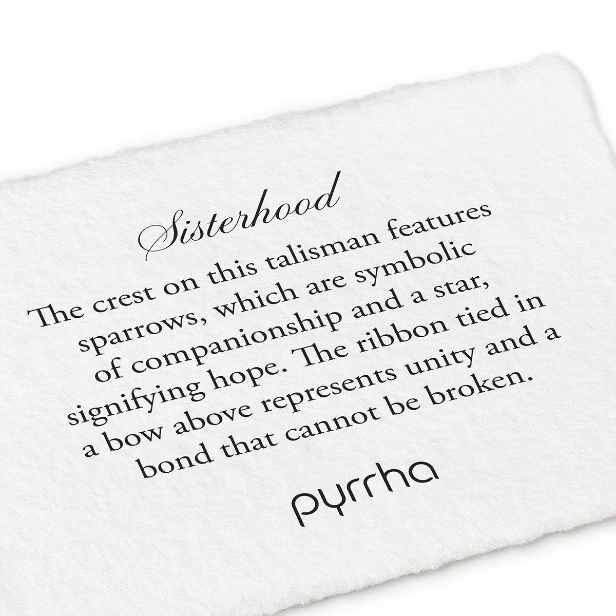 "Pyrrha Pyrrha- Sisterhood 20"""