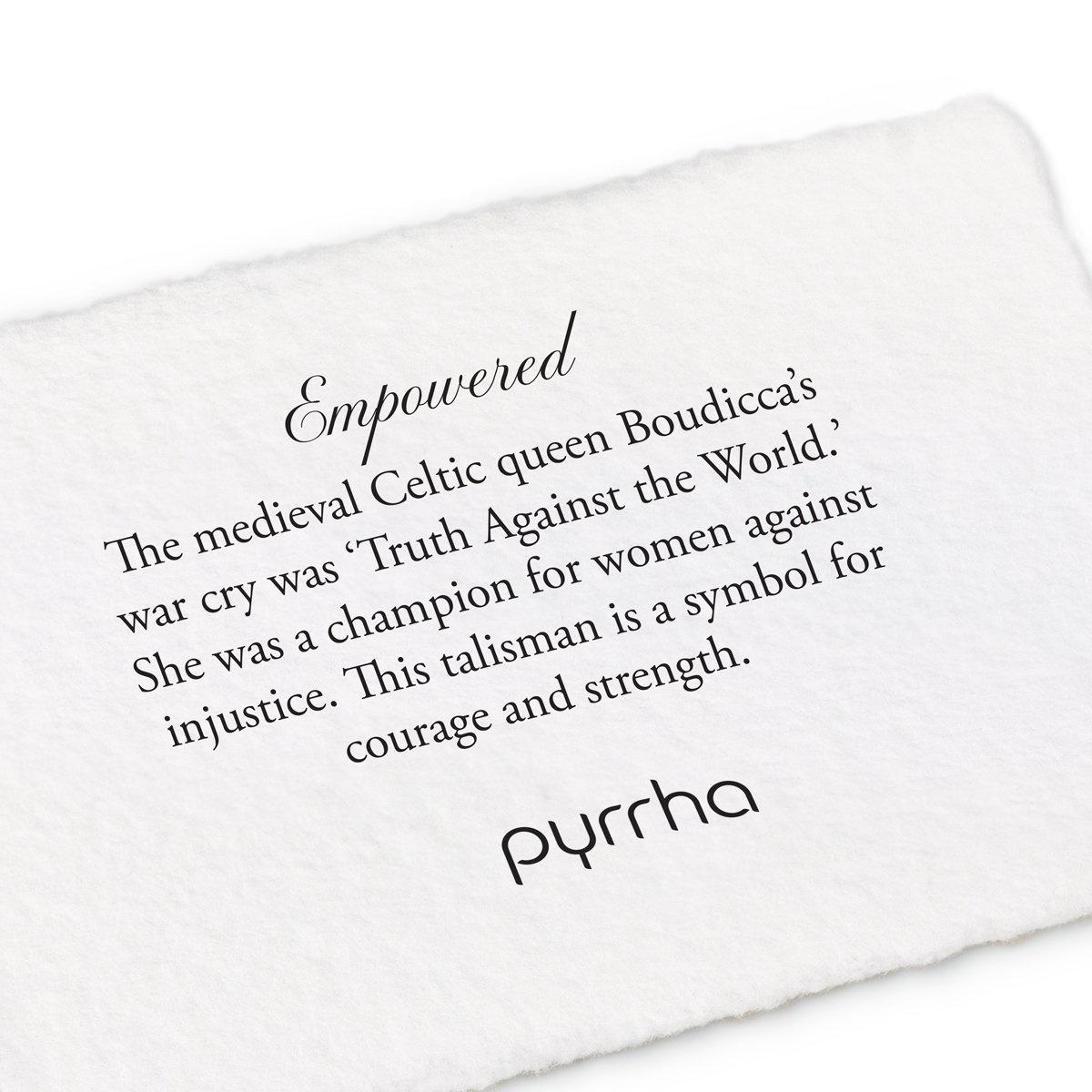 "Pyrrha Pyrrha- Empowered 22"""
