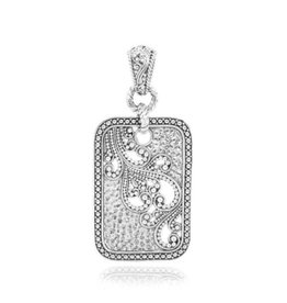 Sarda Sterling Time to Bless Pendant