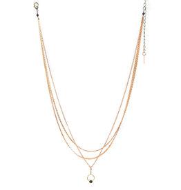 Hailey Gerrits Orbit Necklace- Black Onyx