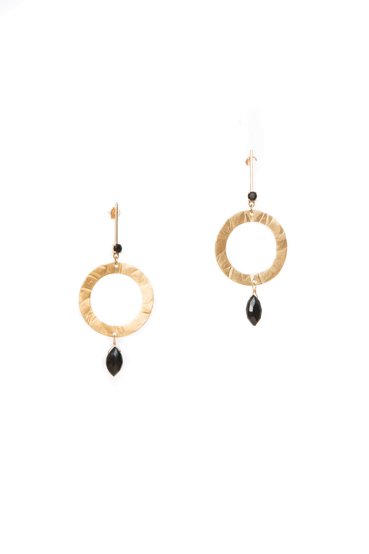 Hailey Gerrits Orion Earrings- Black Onyx