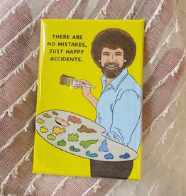 The Found Happy Accidents Magnet