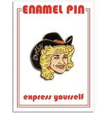The Found Dolly Parton Pin