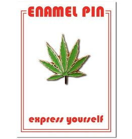 The Found Pot Leaf Pin