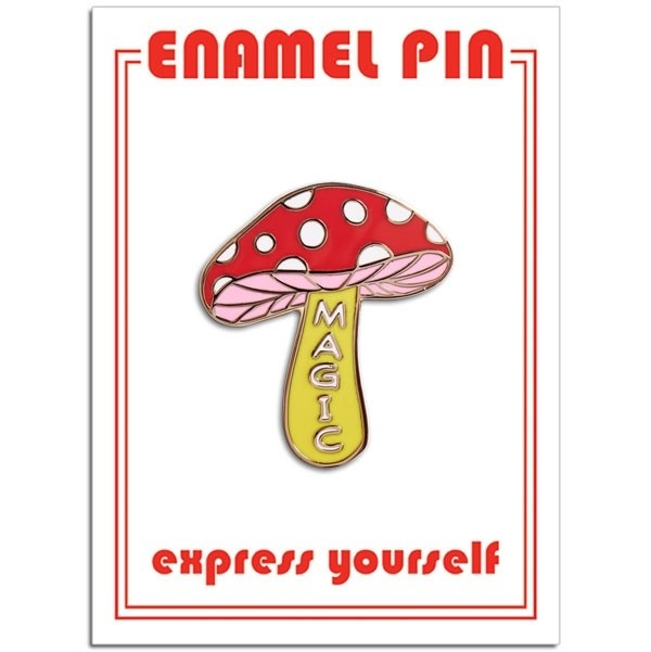 The Found Magic Mushroom Pin