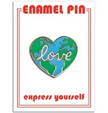 The Found Love Earth Pin