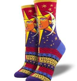 SockSmith Sun and Moon Socks (Red)