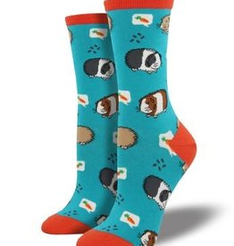 SockSmith Guinea Pigs Socks (Turquoise)