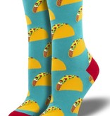 SockSmith Tacos  Socks (Teal)