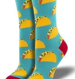 SockSmith Tacos  Socks (Teal)
