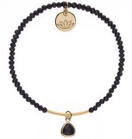 Luv & Bart Kiera Bracelet- Black