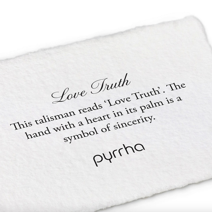 "Pyrrha Pyrrha- Love Truth 18"" (Bronze)"