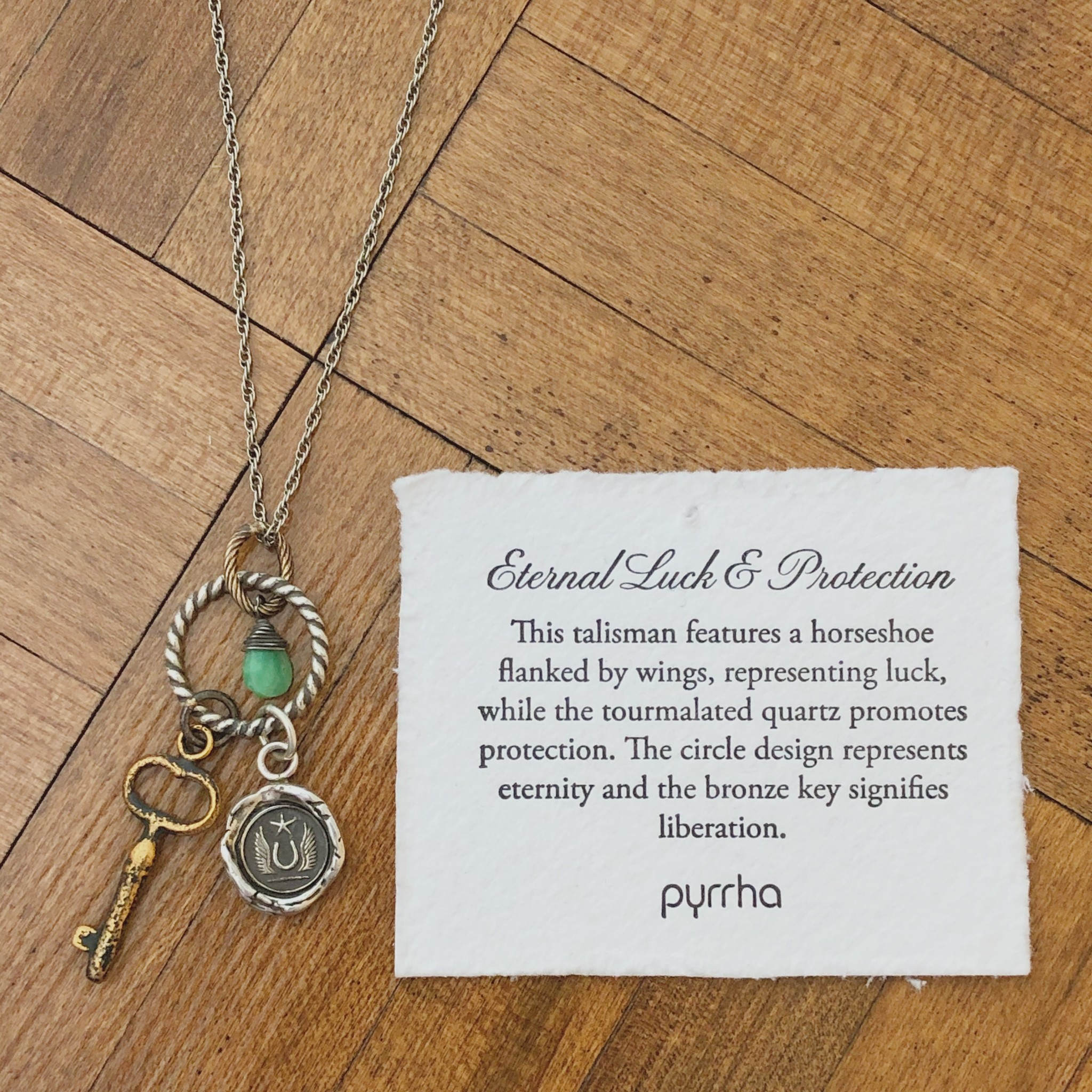 Pyrrha Pyrrha- Eternal Luck and Protection 24""