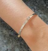 Karyn Chopik Harmony Bracelet- Sterling & Bronze Set CZ
