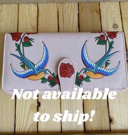 Shag Wear Swallow Wallet (Pink)