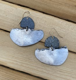 Air & Earth Designs Silver Slice Earring