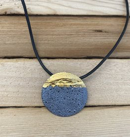 Air & Earth Designs Gong Necklace 18""