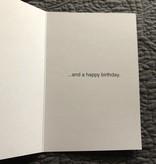 "Jannex ""Warning!"" Birthday Card"
