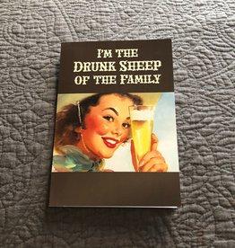 """Jannex """"Drunk Sheep"""" Card"""