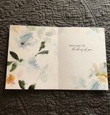 """Jannex """"One Day At A Time"""" Sympathy Card"""