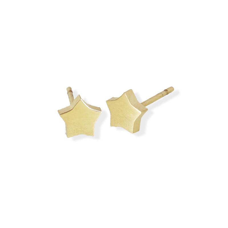 Fab Accessories Star Stud- Gold
