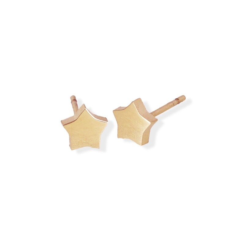 Fab Accessories Star Stud- Rose Gold