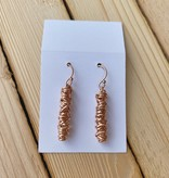 Dianne Rodger Rose Gold Small Micro Twist Earring