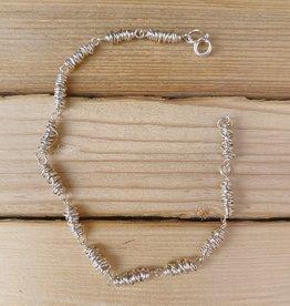 Dianne Rodger Sterling Itty Bitty Twists Full Bracelet