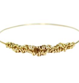 Dianne Rodger Gold Twist Bangle
