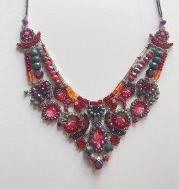 Ayala Bar Ayala Bar- Red/Grey Magical Collar Necklace