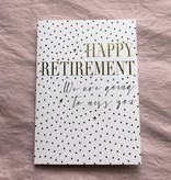 """Jannex """"We Are Going To Miss You"""" Retirement Card"""