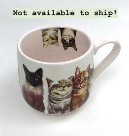 Green Box Feline Friends Mug