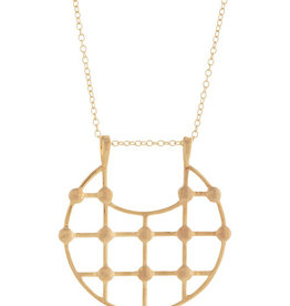 Sarah Mulder Arya Necklace- Gold 18""