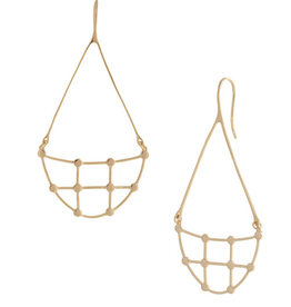Sarah Mulder Willa Earring- Gold