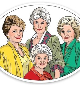 The Found Golden Girls Sticker