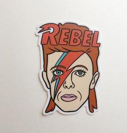 The Found Bowie Sticker