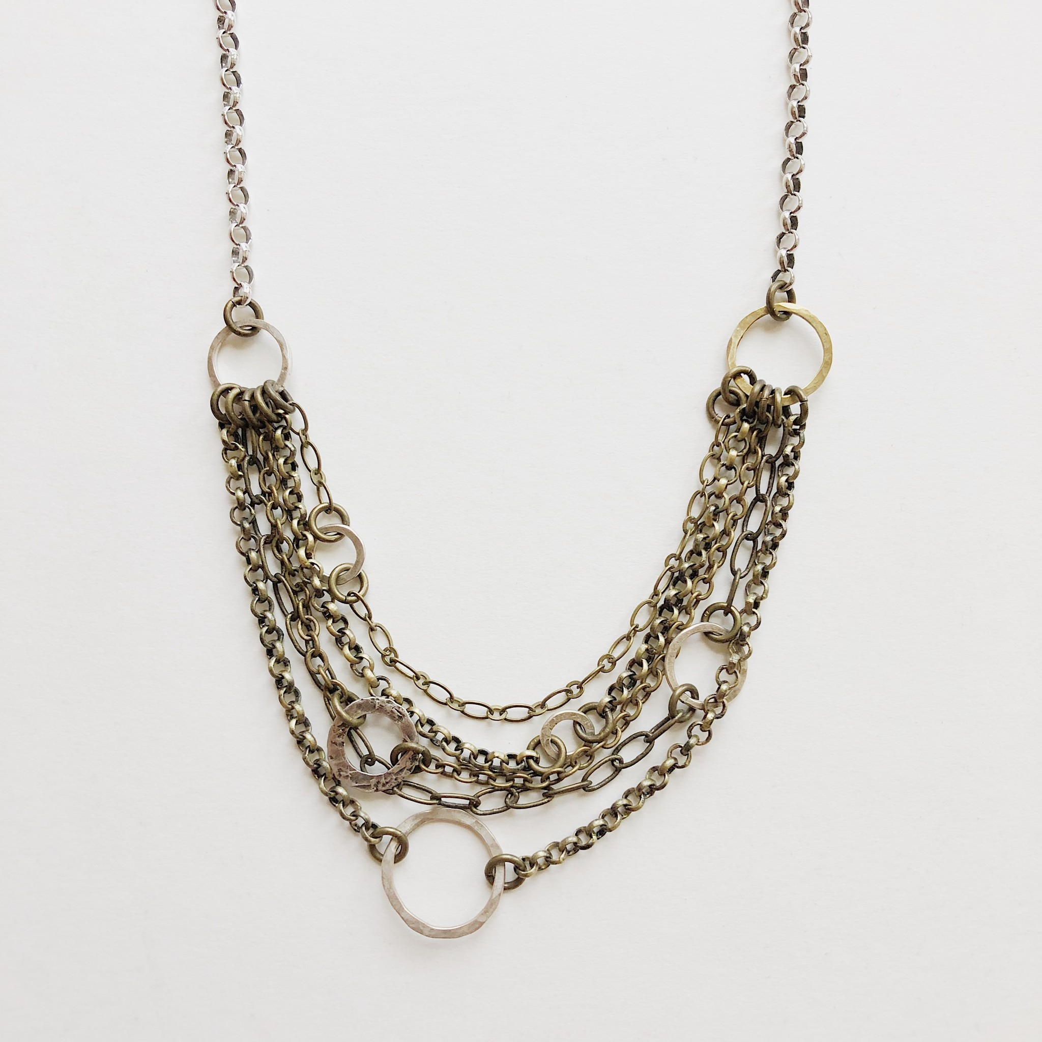 "Pax ""Shoshana"" Necklace 17- 19"""
