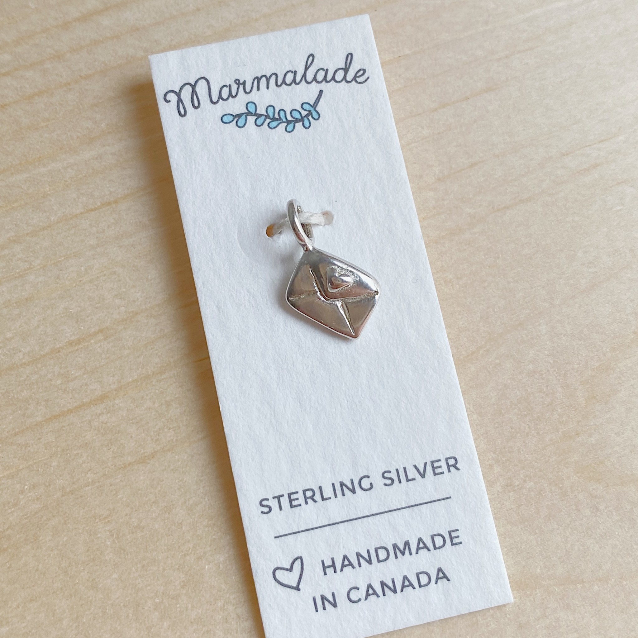 Marmalade Silver Love letter Charm