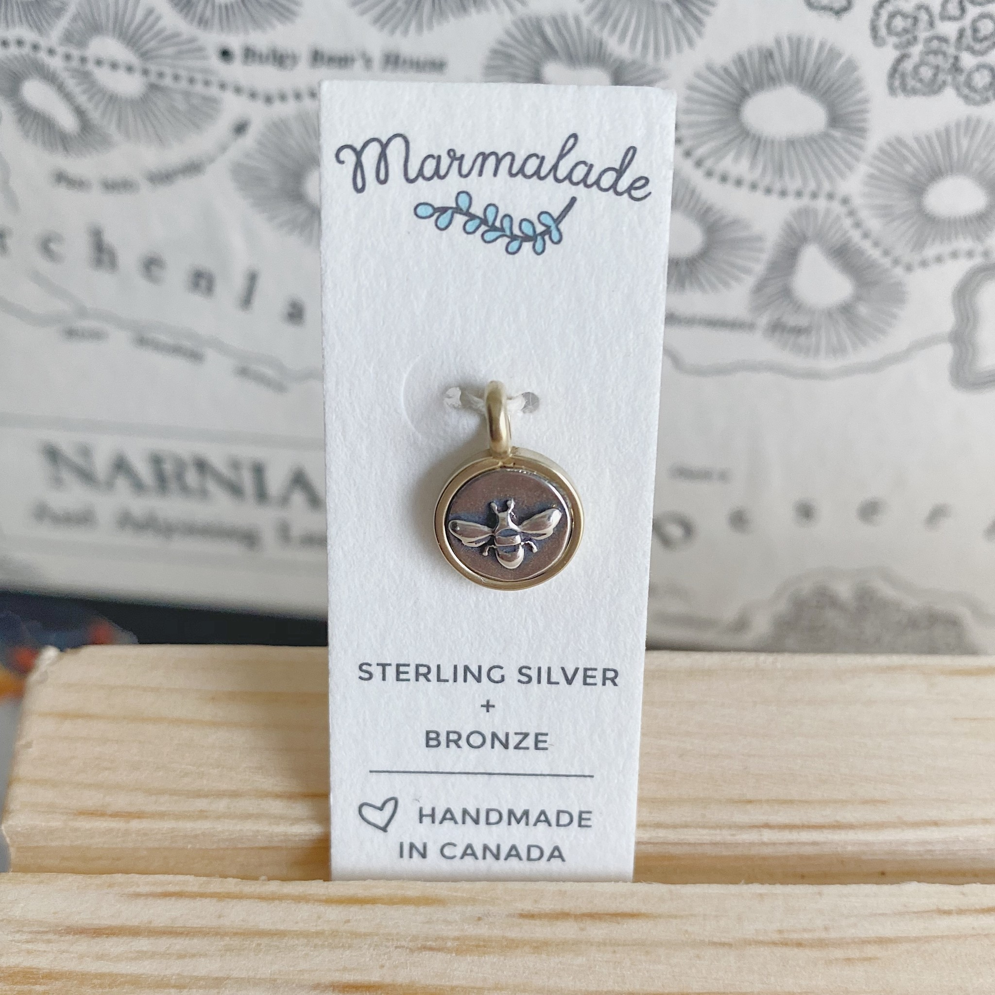 Marmalade Tiny Bee Charm