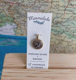 Marmalade Tiny Hummingbird Charm