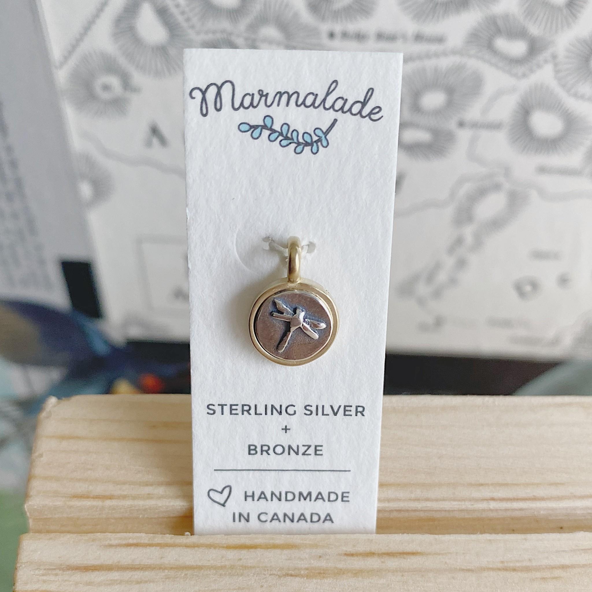 Marmalade Tiny Dragonfly Charm
