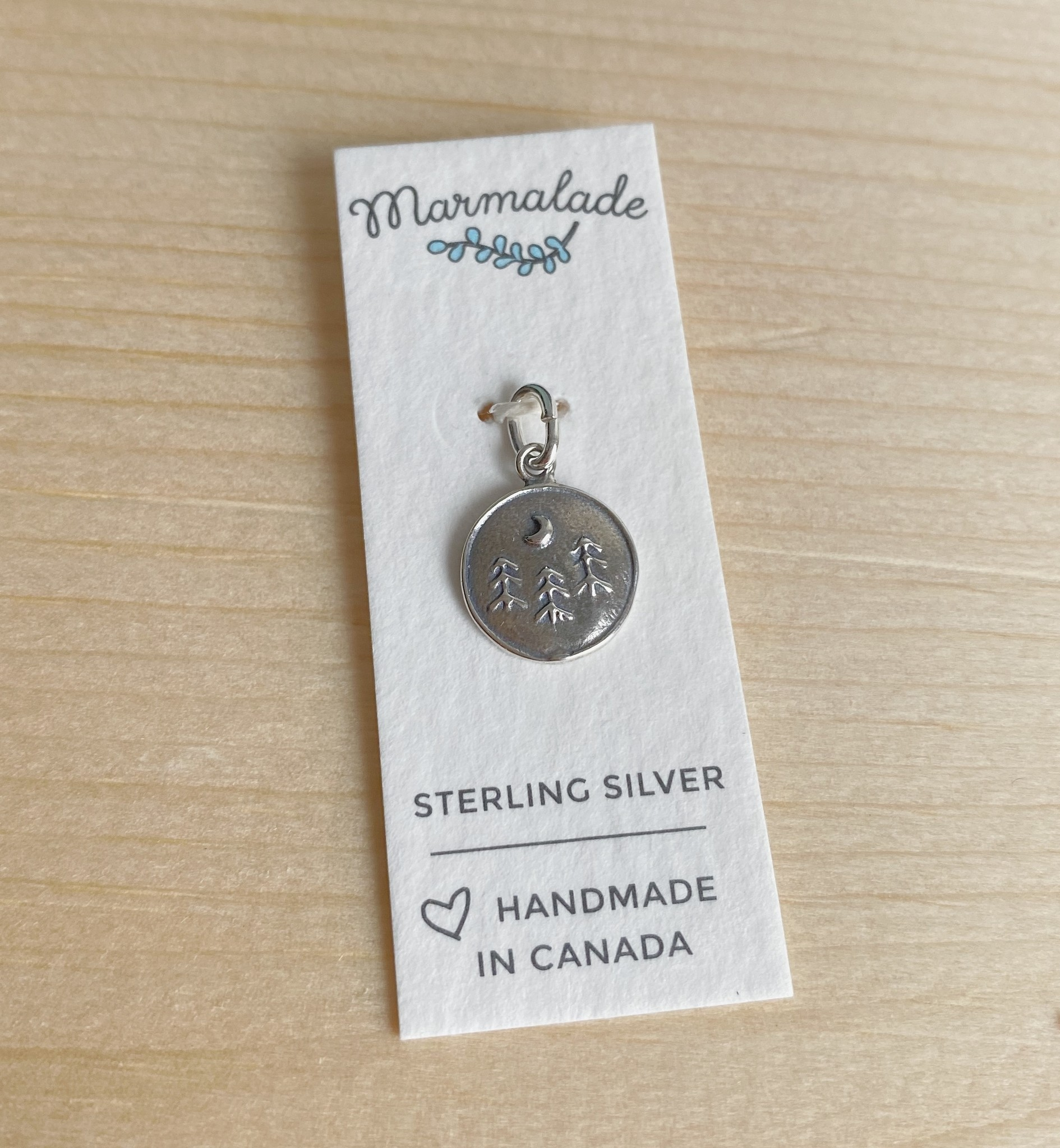 Marmalade Silver Forest Charm