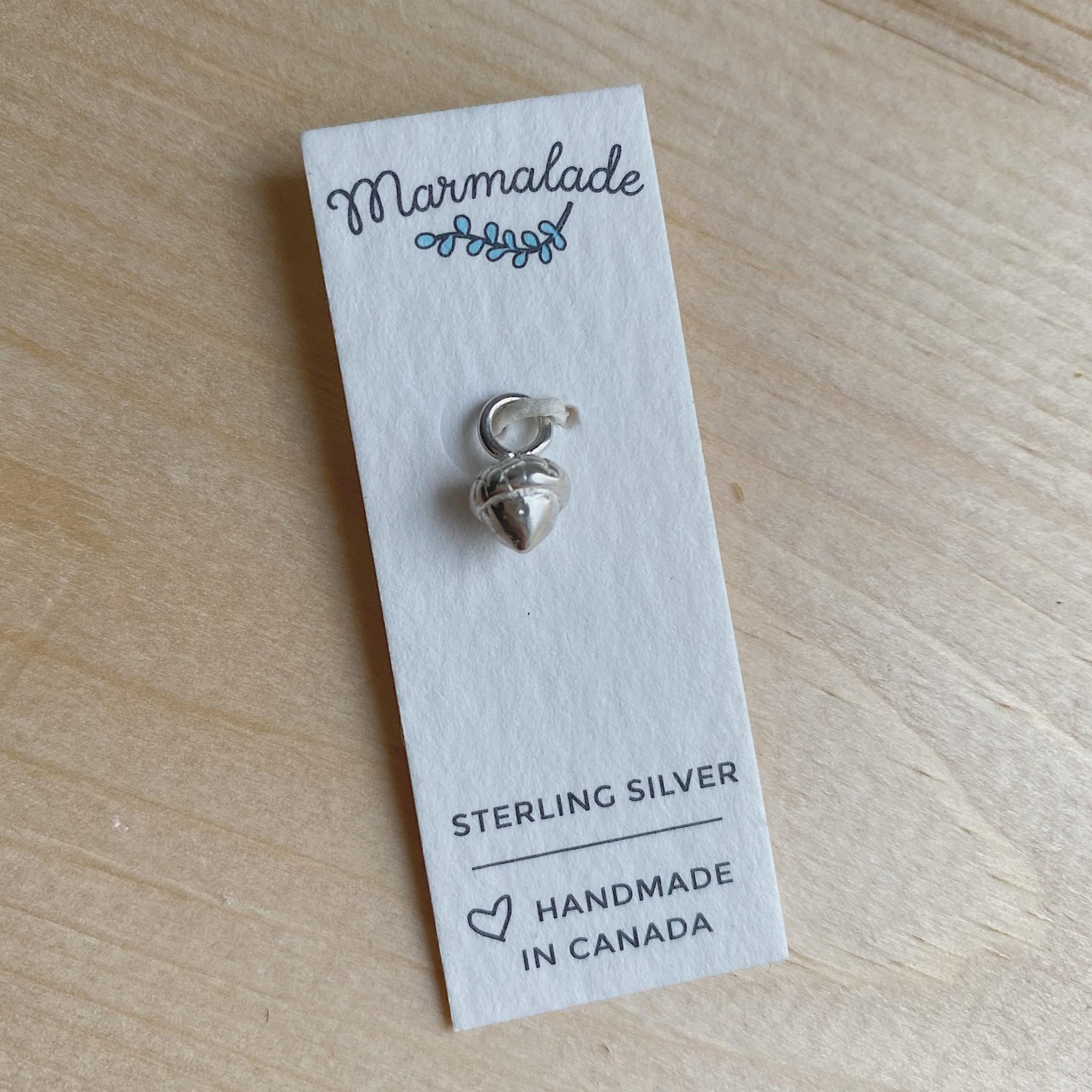 Marmalade Tiny Acorn Charm