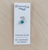 Marmalade Itty Bitty Turquoise Charm (December)