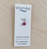 Marmalade Itty Bitty Ruby Charm (July)