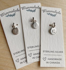 Marmalade Silver Tiny Letter Charm